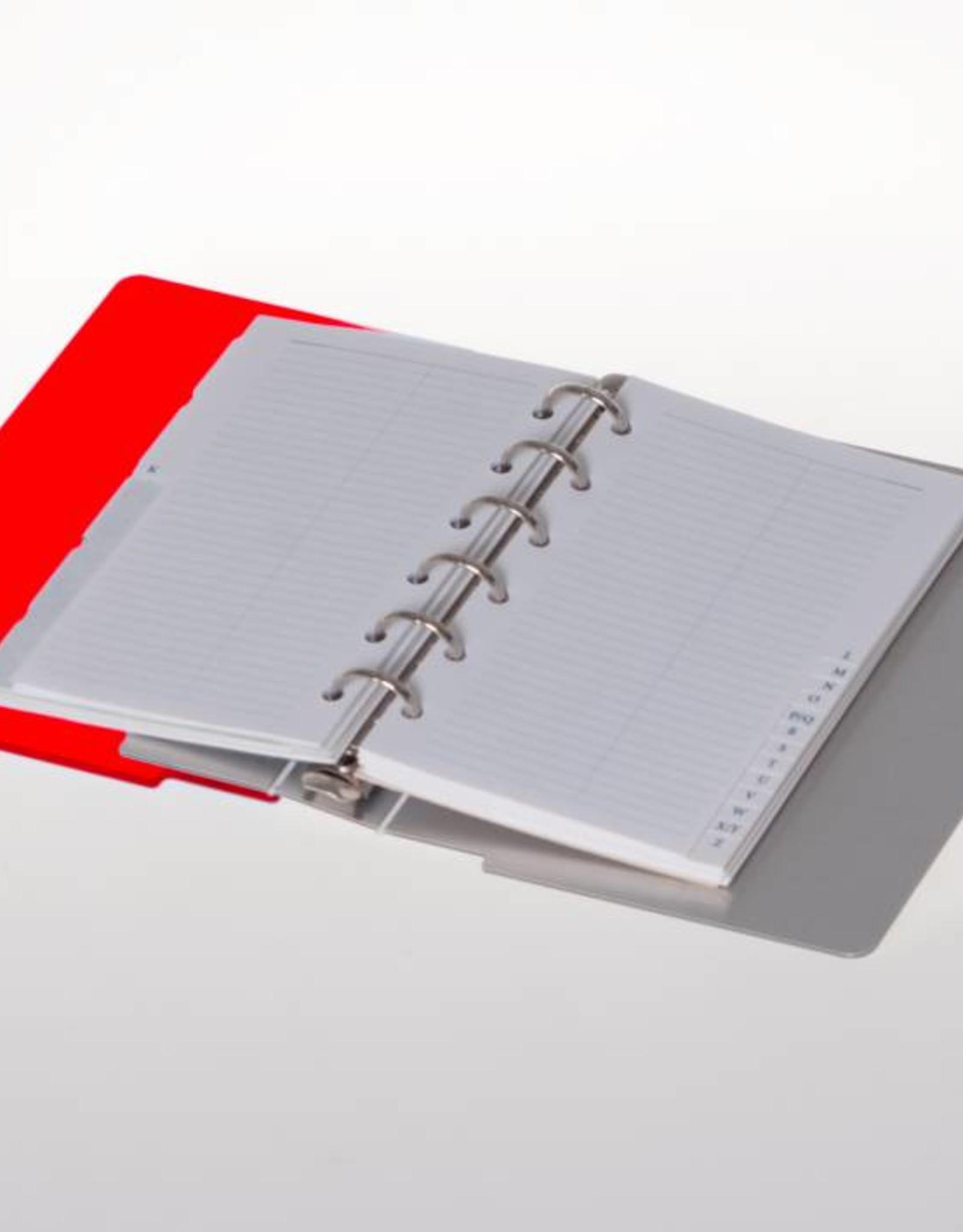 Agenda omslag Albano Desk Chili-Red