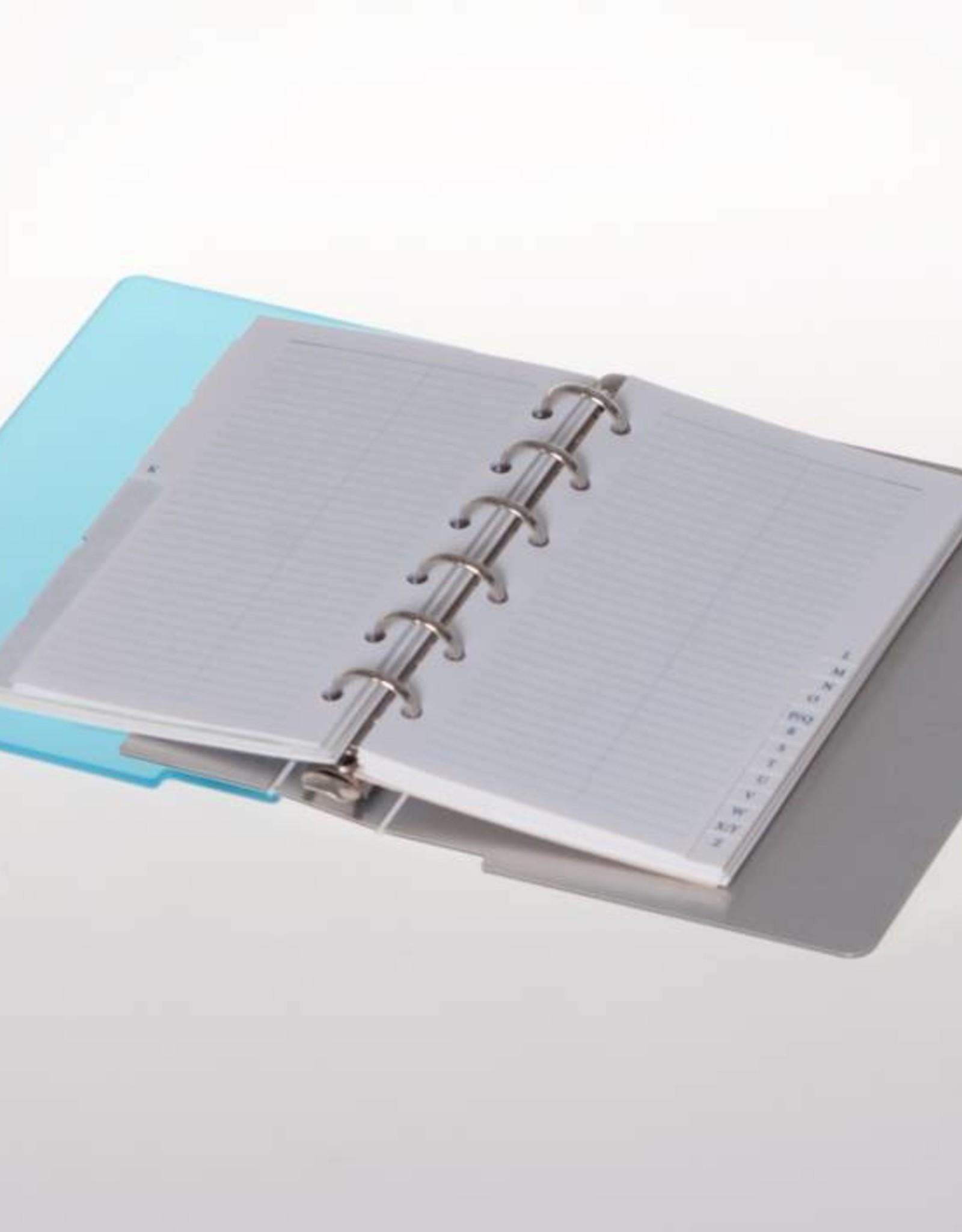 Agenda omslag Albano Desk Aqua