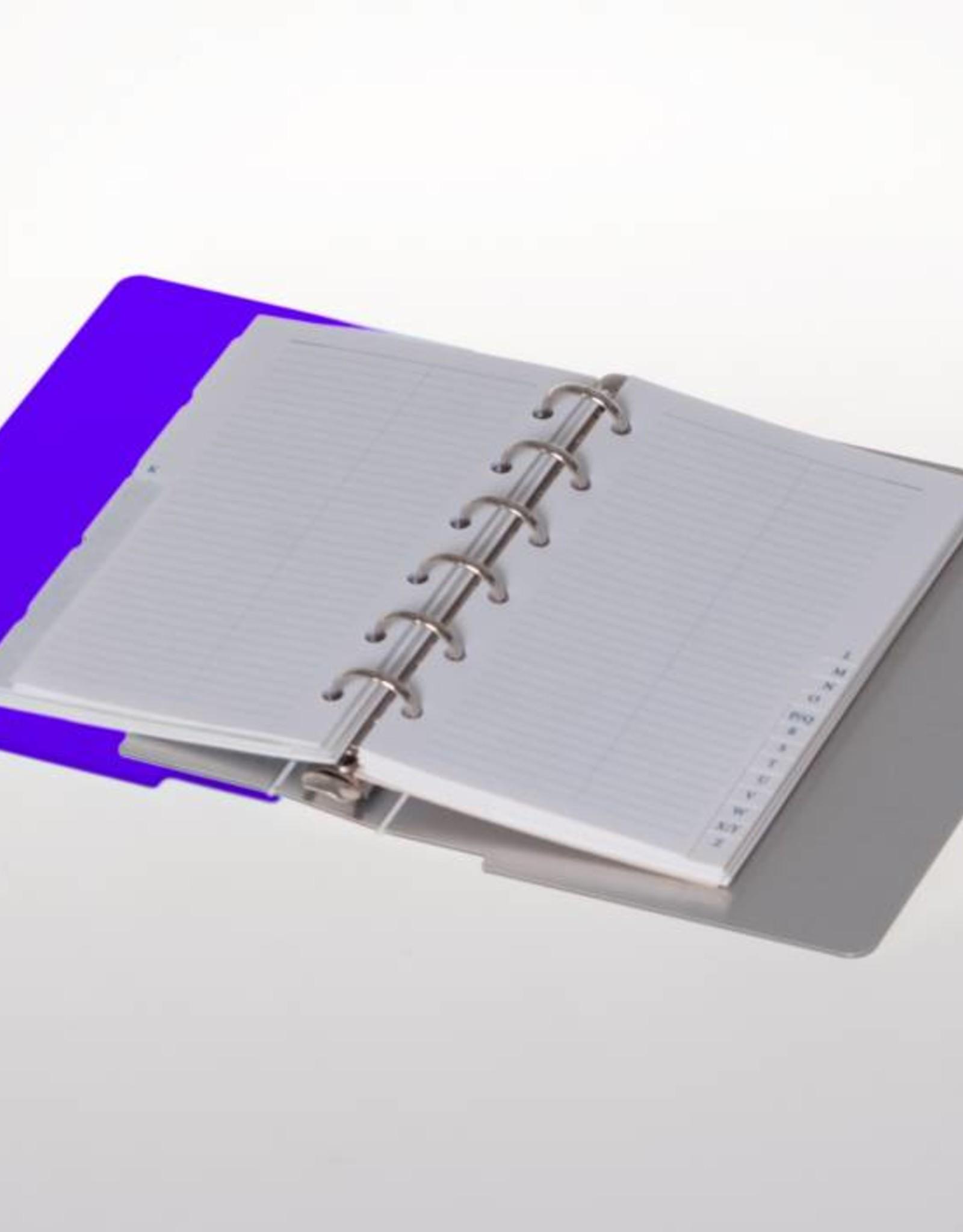 Agenda omslag Albano Desk Violet