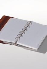Agenda omslag Albano Desk Rosewood