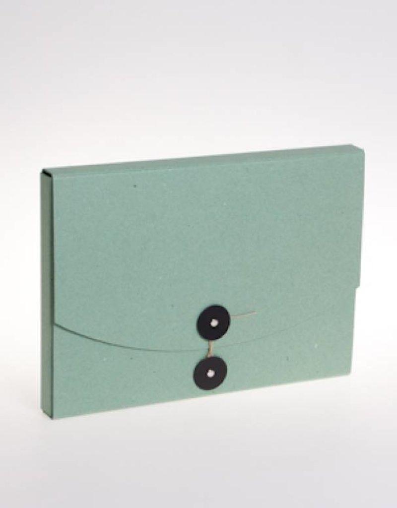 Documap met japanse knoop A4 (groen)
