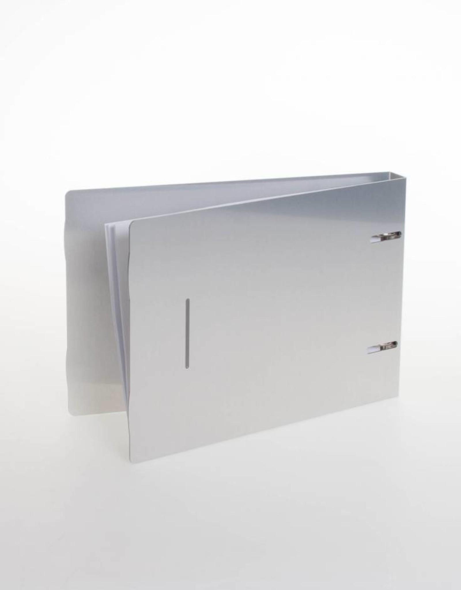 RibbleBox Ringband flipover ALU, staand A5
