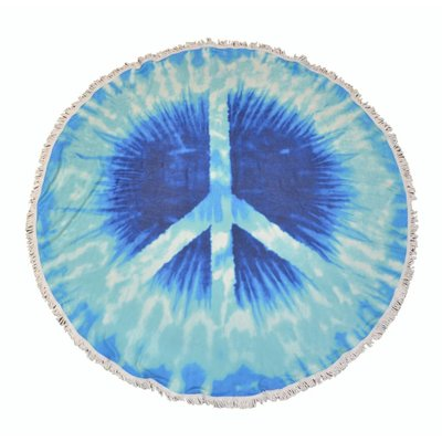 """Roundie Strand Tuch """"Peace (885179)"""