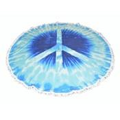"Roundie beach towel ""Peace (885179)"