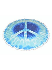 """Roundie Strand Tuch """"Peace"""""""