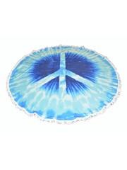 "Roundie beach towel ""Peace"""