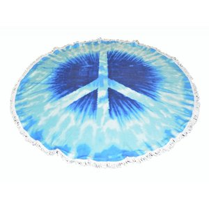 "Roundie Strand Tuch ""Peace"""