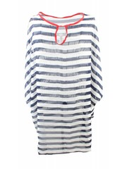 Tunic stripe blue