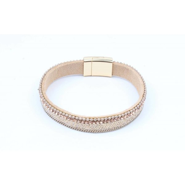 Bracelet with matte Gold just nude (327857)