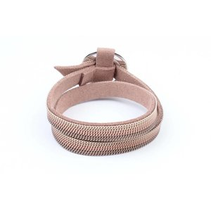 "Wickel-Armband ""Ring"" mit Ketten nackt"