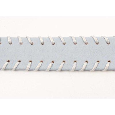 Halsreif mit Nähten Pastellblau (318098)
