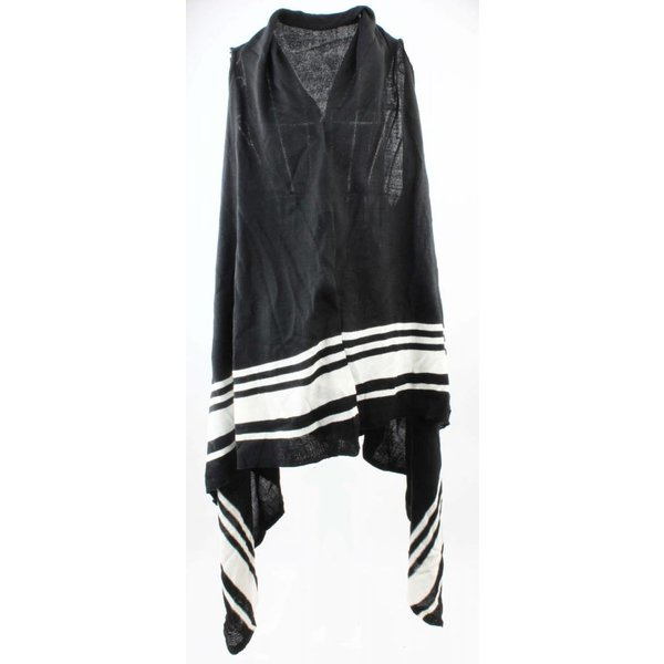 Jacket Striped black and white