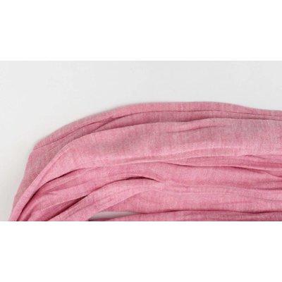 "Schal ""Uni Jersey S"" melange rosa"