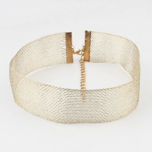Choker metal gold