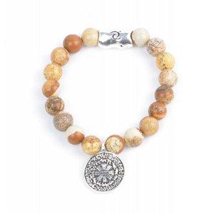 "Rove Bracelet ""Zodiac"" Brown (S)"
