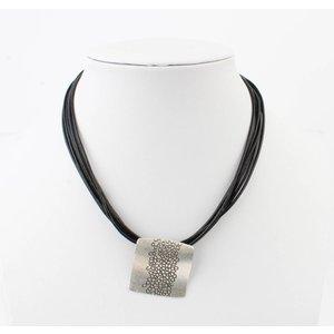 Necklace ' Fantasy Circles ' black
