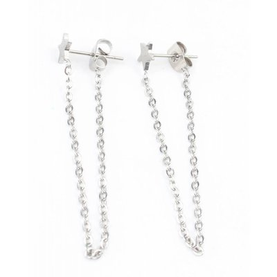 Earring stainless steel necklace ' Star '