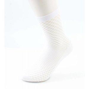 "Socks ""Sporty Fishnet"" white per 2 pairs"