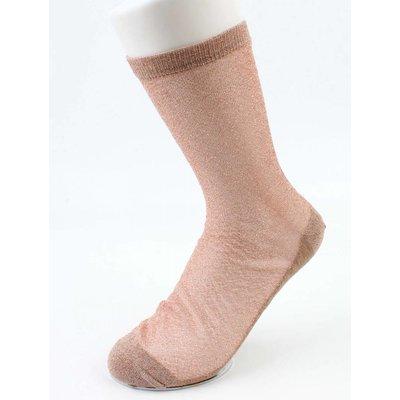 Socks Lurex rosé