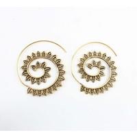"""Spiral earring """"Marrakech""""gold"""