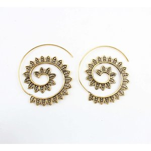 """Spirale Ohrring """"Marrakesch"""" gold"""