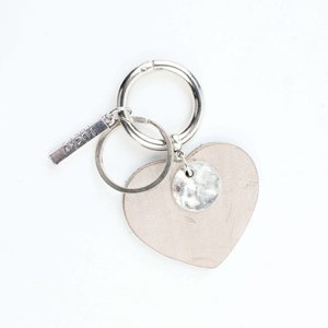 "Keychain ""Lucky"" taupe"