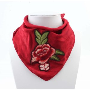 "Scarf ""Rose"" red"
