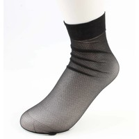 "Socks ""Metallic"" black, per 2 pair"