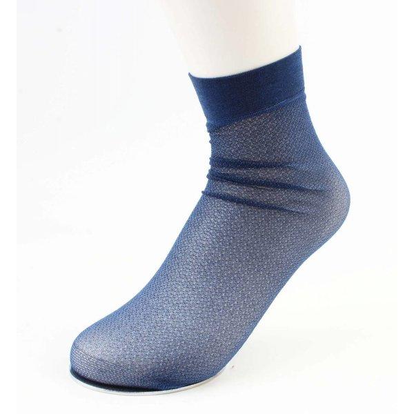 "Socken ""Metallic""-blau, doppelpack"