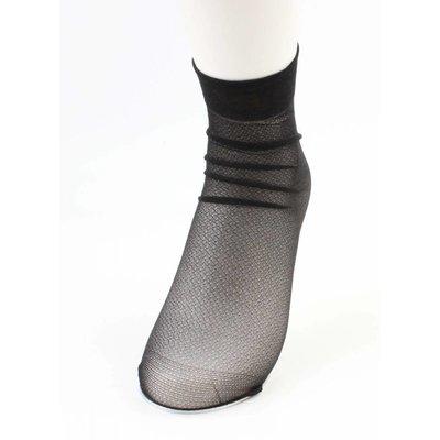 """Socks """"Metallic"""" black, per 2 pair"""