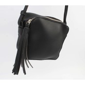 """Cross body bag """"Tassel"""" black"""
