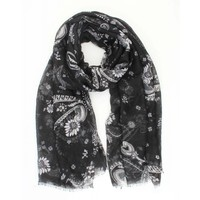 "Scarf ""Julia"" black"
