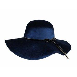 "Flaphoed ""Bow"" blauw"