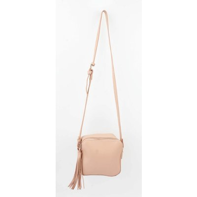 "Cross body bag ""Tassel"" pink"