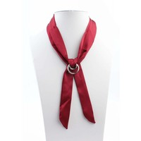 """Necklace """"Bow"""" Red"""
