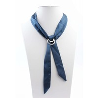 "Halskette ""Bow"" blau"
