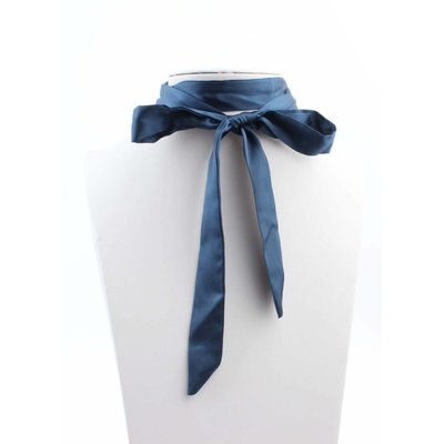"""Multi necklace """"Bow"""" blue"""