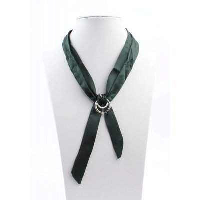"Multi necklace ""Bow"" petrol"