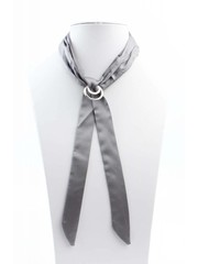 "Necklace ""Bow"" grey"