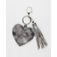 "Pendant ""Heart & Love"" grey"