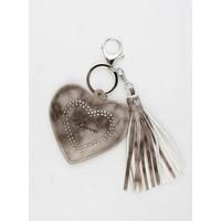 """Hanger """"Hart & Love"""" bruin"""