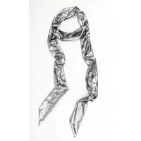 "Schal ""Uni Krawatte"" silber"