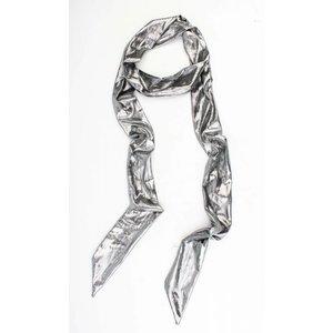 "Scarf ""Uni tie"" silver"