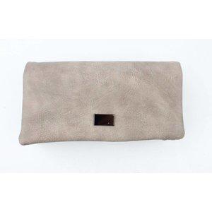 "Wallet ""fold"" brown"