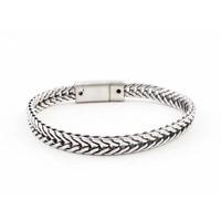 """Bracelet """"Milena"""" old silver"""