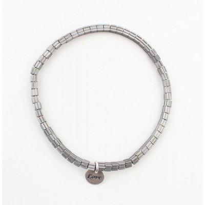 "Armband ""Lois"" zilver"