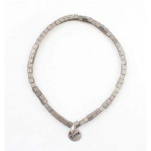 "Bracelet ""Lois"" old silver"