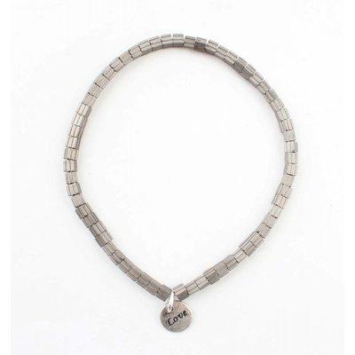 "Armband ""Lois"" oud zilver"