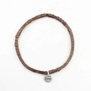 "Bracelet ""Lois"" bronze"