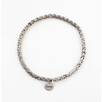 "Armband ""Ise"" zilver"